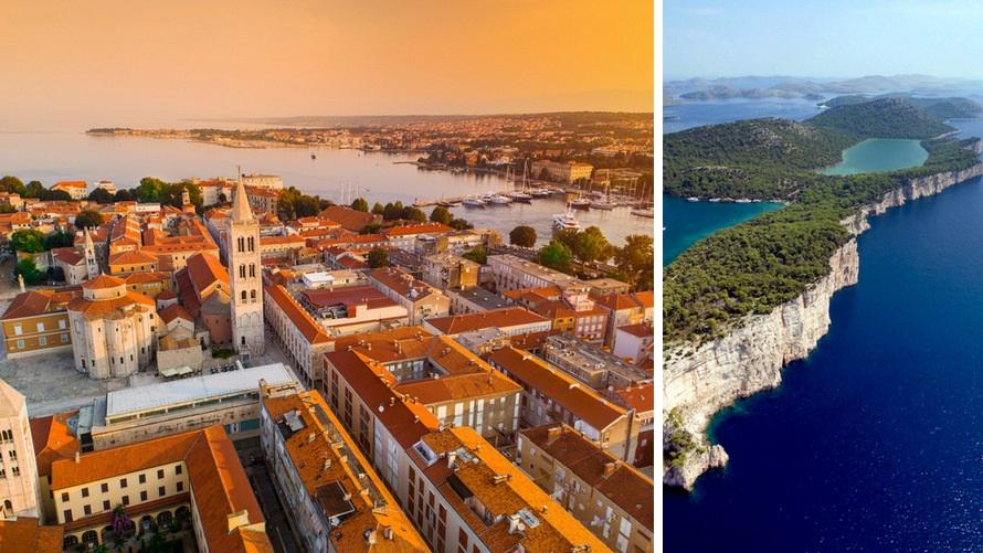 Islas de la bahía de Kvarner desde Opatija de lujo: Zadar, Kornati