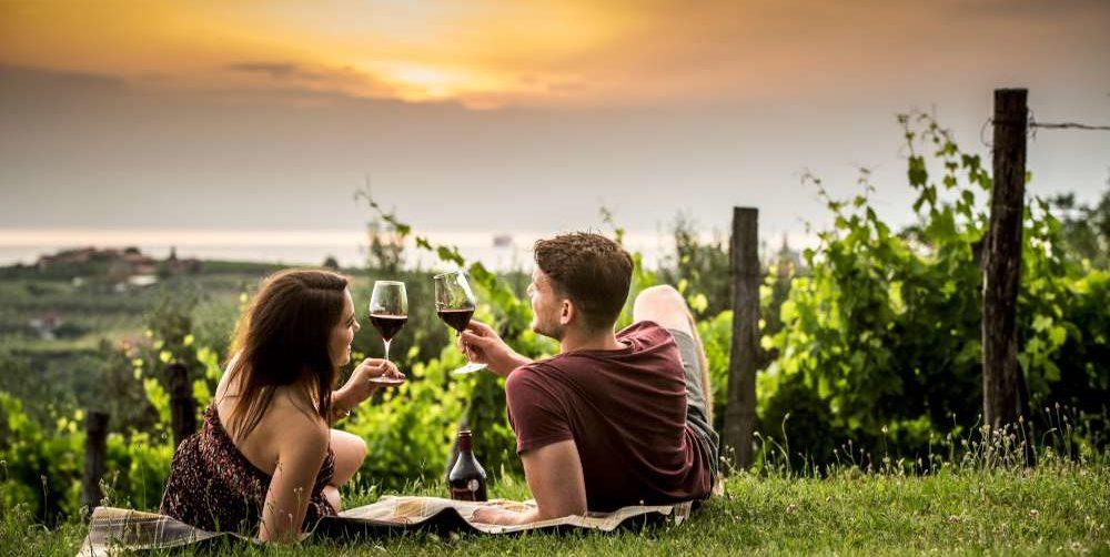 Gastronomia eslovena - vino y comida