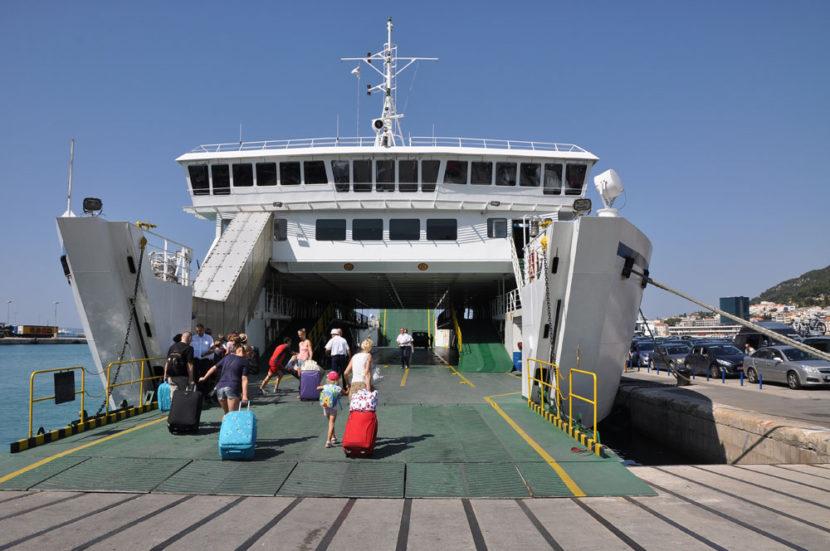 Italia-Croacia en ferry