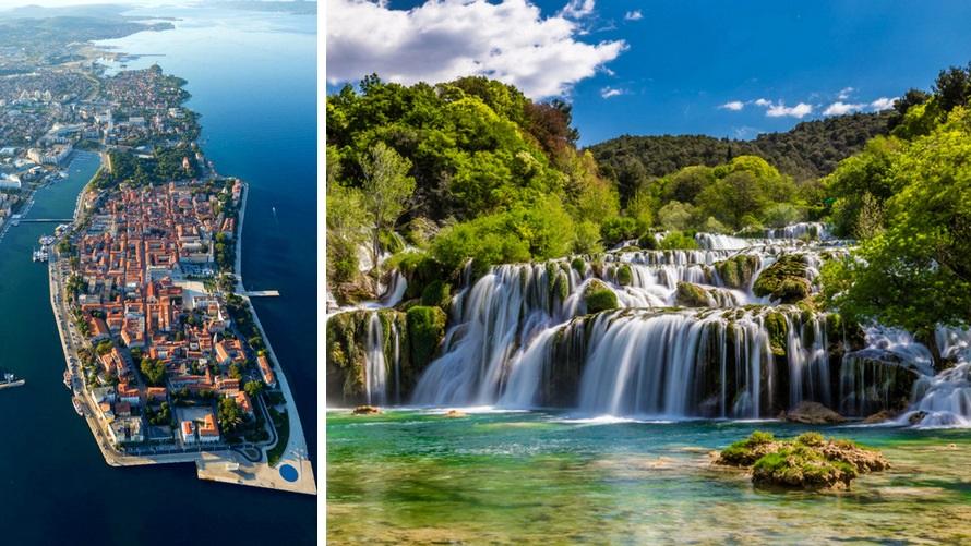Islas croatas entre Opatija y Dubrovnik de lujo - Zadar, PN Krka