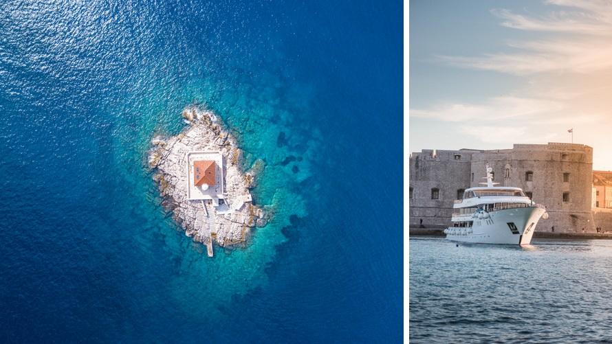 Crucero Islas croatas entre Opatija y Dubrovnik de lujo