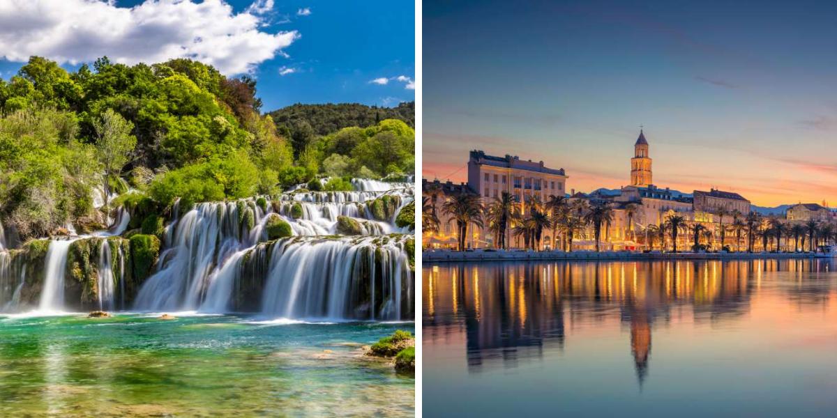 visita el parque Nacional Krka y Split