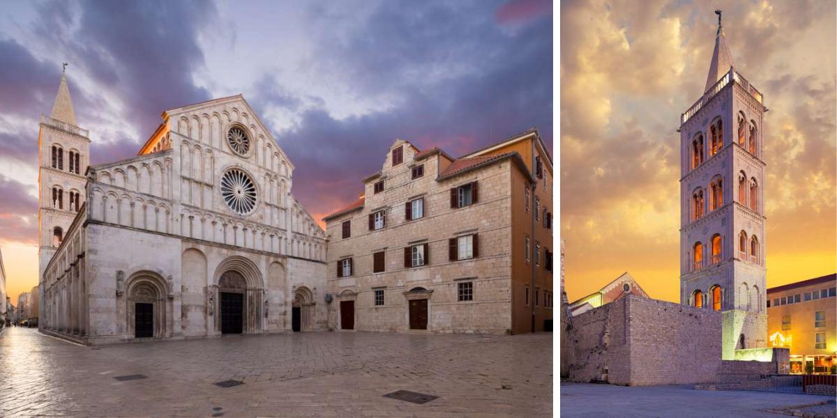 que ver en Zadar - el casco antiguo
