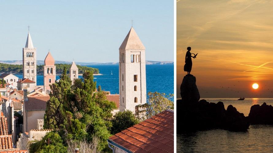 Crucero: Croacia, Kvarner, Opatija, Rab