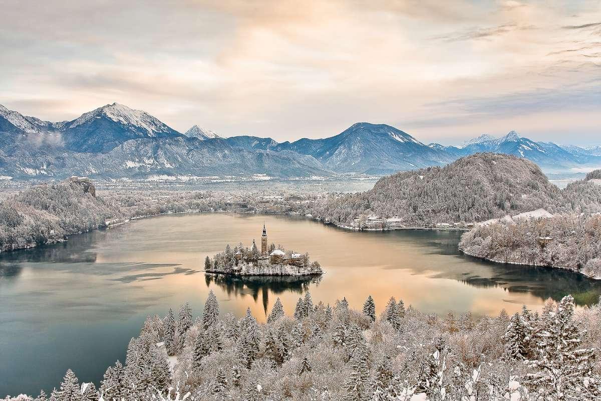 Bled en invierno