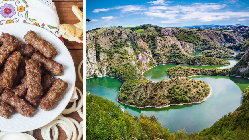 Visit Serbia - cevapcici & Uvac