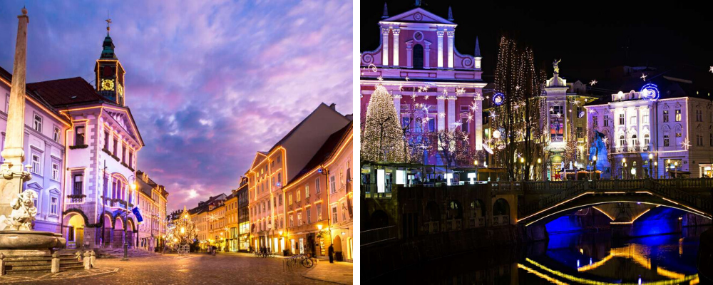 mercados navideños en Eslovenia