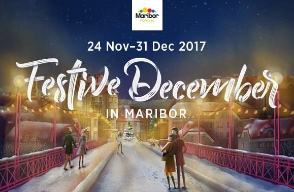 Mercado navideño en Maribor