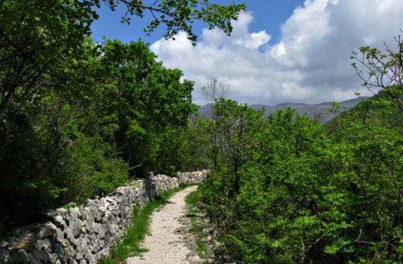 Crikvenica en Kvarner, Croacia