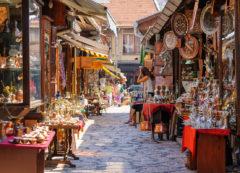 Baščaršija en Sarajevo, Bosnia y Herzegovina
