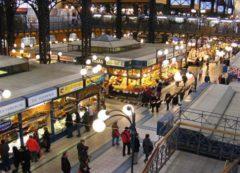 El mercado central de Budapest
