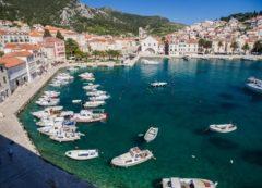 Un pueblo encantador en Dalmacia