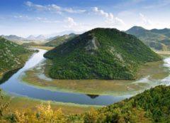 El lago de Skadar