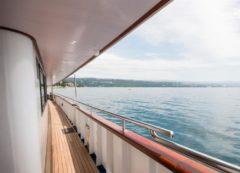 La cubierta del barco