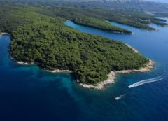 Una de las islas de la bahía de Kvarner