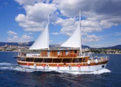 Ejemplo del barco tradicional