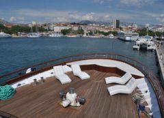 El exterior del barco