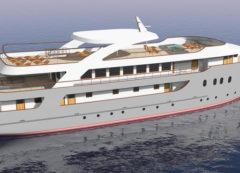 Modelo de nuevo barco