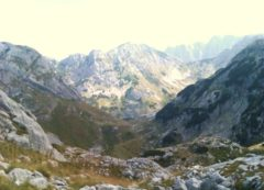 Valle alpina de Durmitor