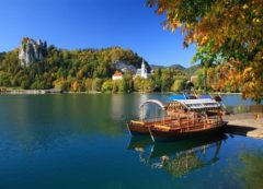 Lago glacial de Bled