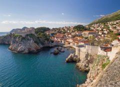 La bahía de Dubrovnik