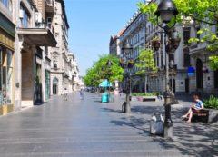 En las calles de Belgrado