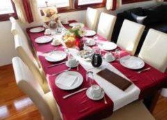 El comedor en el barco