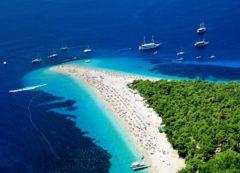 La playa más famosa de Dalmacia