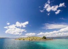 Una de las numerosas islas en Croacia