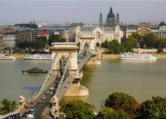 El famoso Puente de las Cadenas