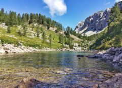 El valle de los lagos de Triglav