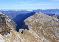 Los picos de Visevnik y Debela Pec
