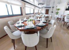 Comedor del barco