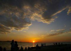 Puesta del sol en Dalmacia