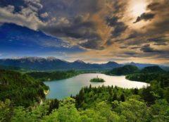 Vista mágica de Bled (fuente: Tourism Bled)
