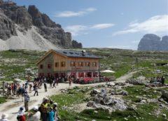 Passo Lavaredo en las Dolomitas
