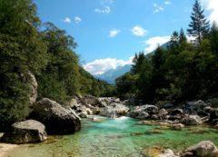 Hermoso Valle del río Soča