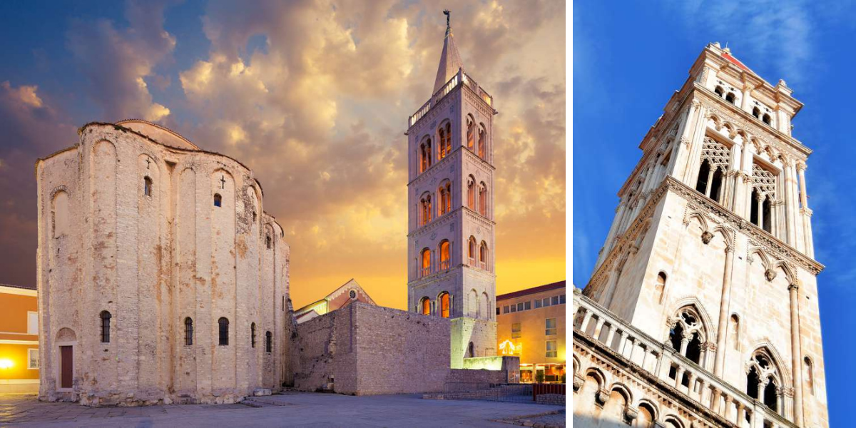 viaje de peregrinación - Zadar y Trogir