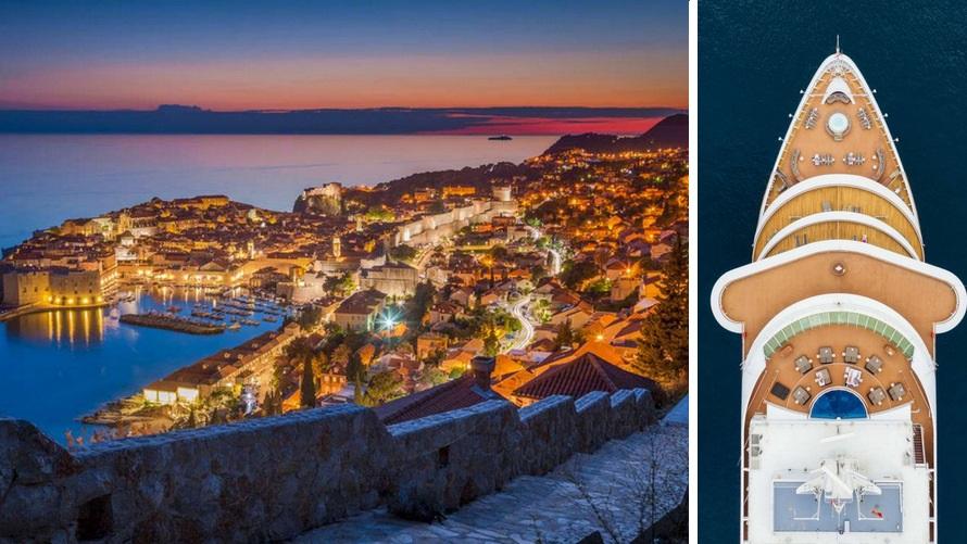 cruzeiro Dubrovnik de luxo