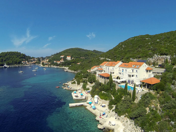 Isla de Sipan cerca de Dubrovnik