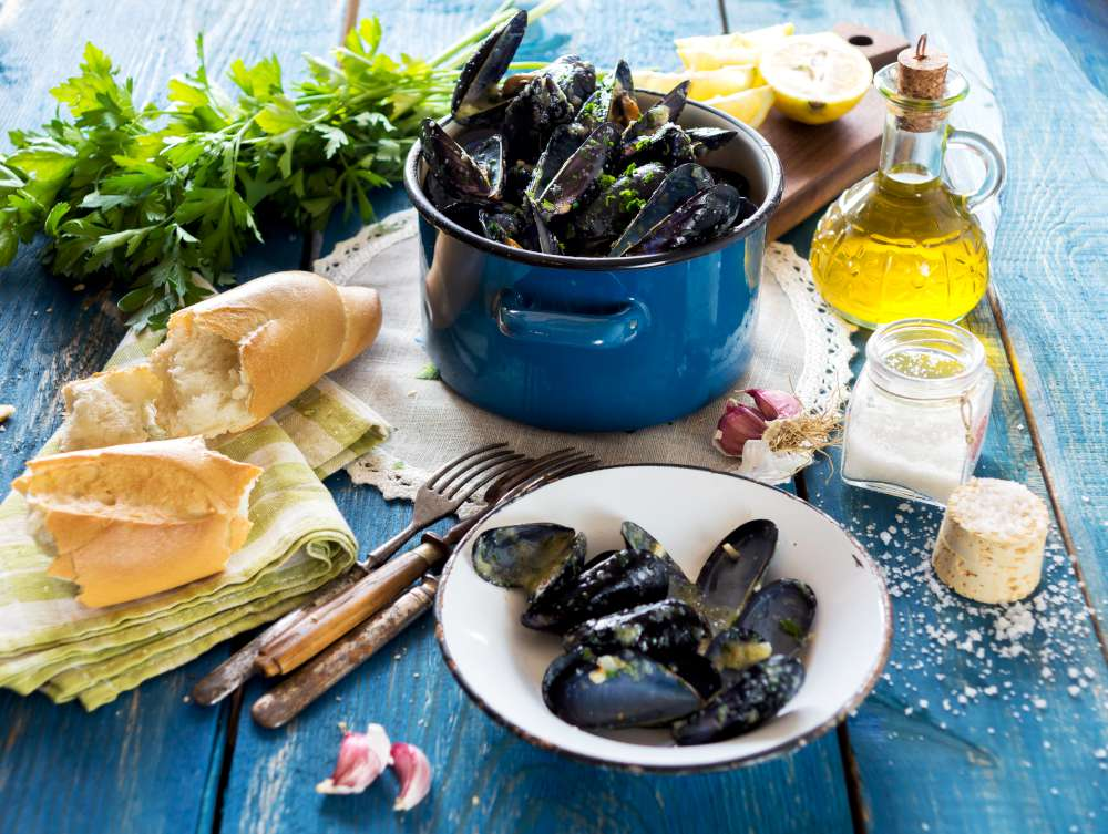 gastronomía croata en la islas Elafiti