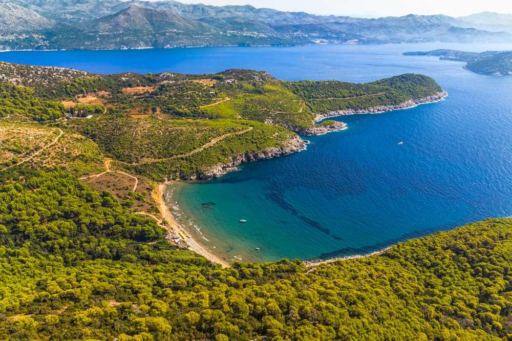 islas Elafiti en privado con Ekorna