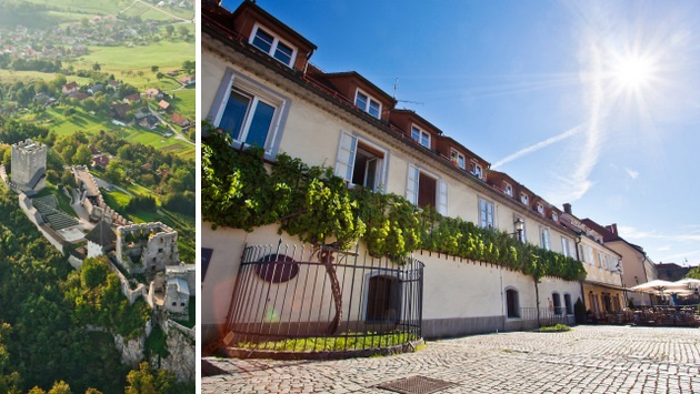 Frederick's Tower, Celje Castle & Old Vine House, Maribor, the oldest vine in the world