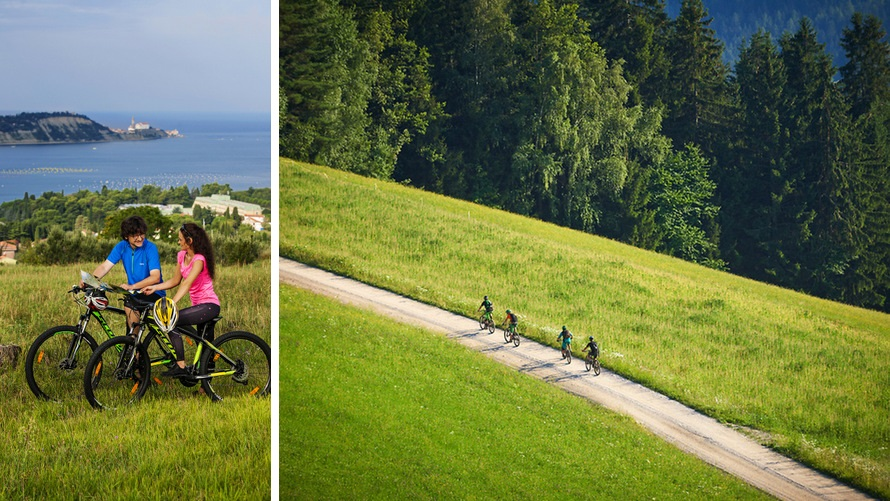 Best of Slovenia Cycling Tour - from Ljubljana to the Adriatic Sea