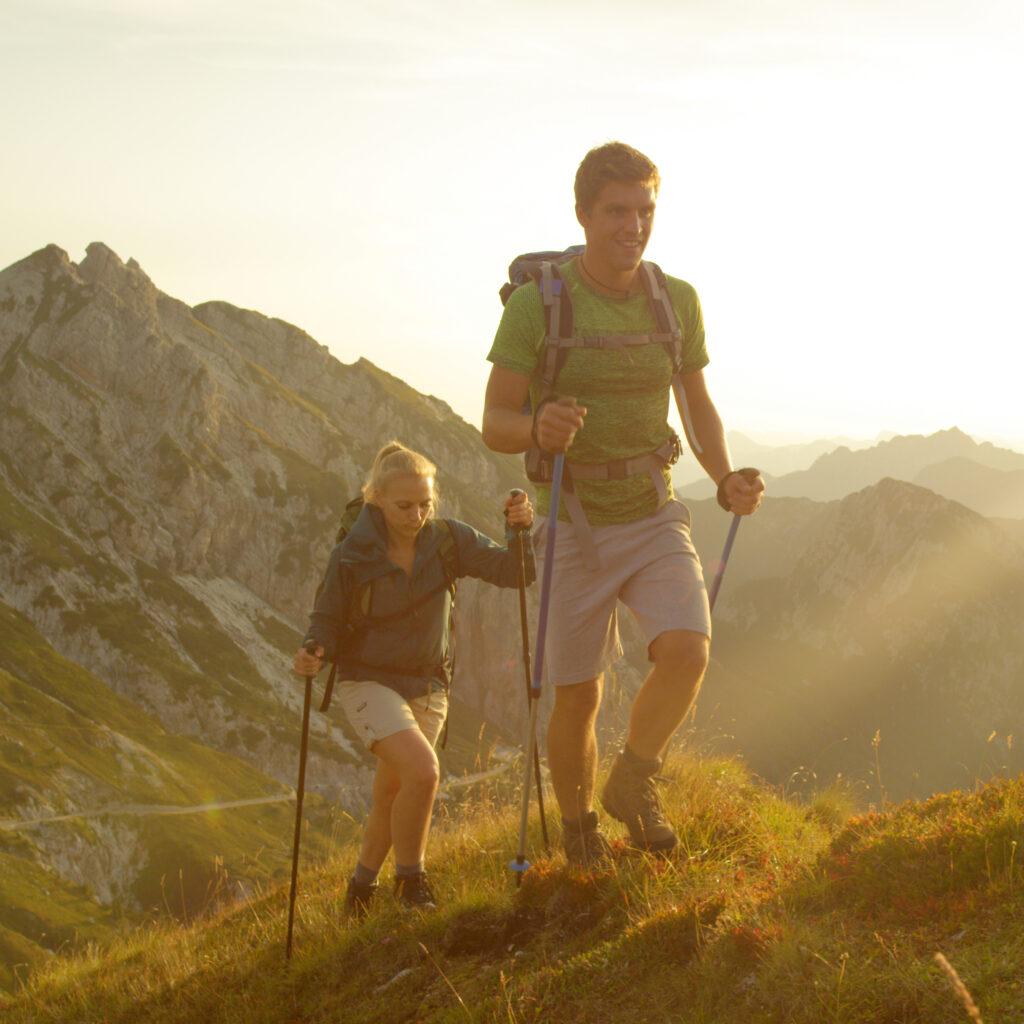 Hiking in Triglav national Park