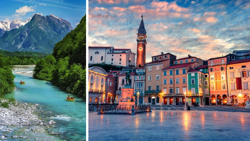 Las bellezas de Eslovenia