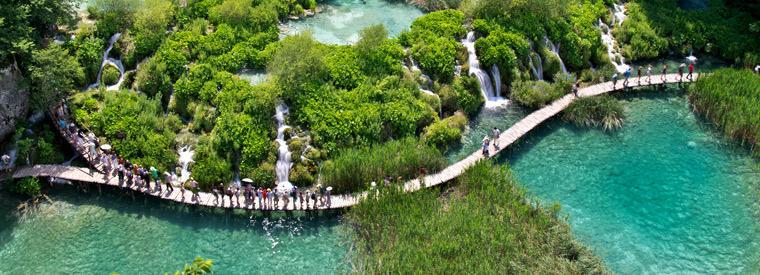 Le parque naturel de Plitvice