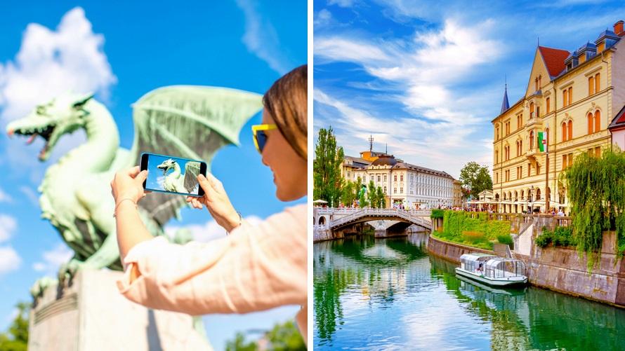 Voyage en Slovénie: Ljubljana