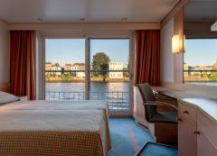 Camarote en el crucero fluvial por el Danubio