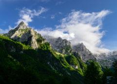 Montes Prokletije, Albania